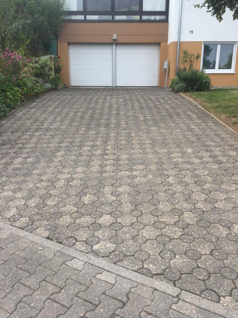 Garageneinfahrt Nachher - Die Steinreiniger