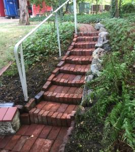 Treppe-nachher Die Steinreiniger