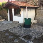 Laube mit Terrasse 2 nachher - Die Steinreiniger
