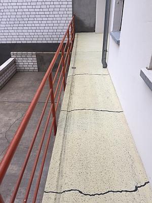Die Steinreiniger - Balkon nachher